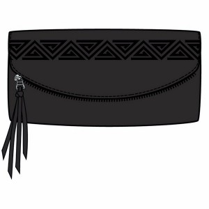 Vans Fringed Up Wallet onyx