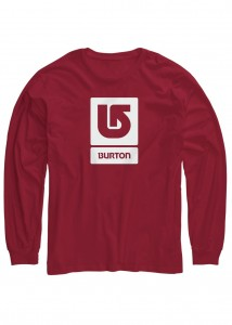 Burton Boys Vertical LS Tee chili pepper