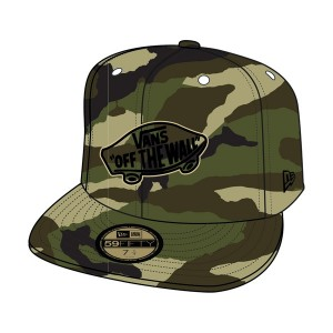 Vans Home Team New Era woodland camo