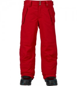 BURTON BOYS PARKWAY PANT PROCESS RED | W 17