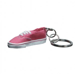 Vans Authentic Keychain pink lightning
