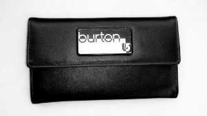 Burton Wms Tri-Fold Wallet true black