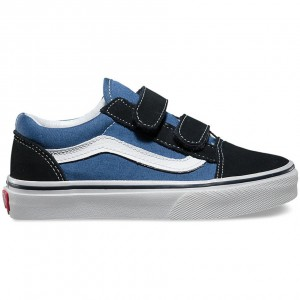 Vans Kids Old Skool V navy/true white