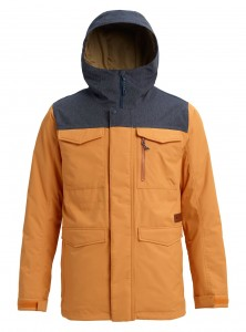 BURTON MB COVERT JK GLDNOK/DENIM |W 19