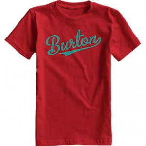 Burton Boys All Star SS Tee fiery red