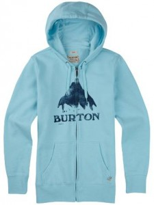 Burton Stamped MTN Full-Zip Hoodie cancun heather