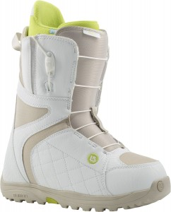 Burton Mint white/tan | W15