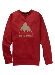 BURTON CROWN BNDD CREW TANDORI HEATHER I 20 W