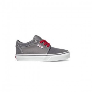 Vans Boys Chukka Low dark gray/white