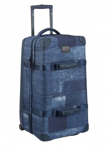 BURTON WHEELIE DOUBLE DECK forest night/ waxed canvas | W 18