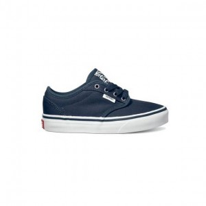 Vans Boys Atwood (Canvas) navy/white